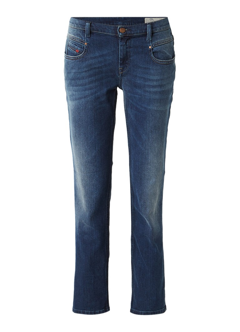 Diesel Belthy-Ankle low rise 7 8 regular slim-straight fit jeans 084BU