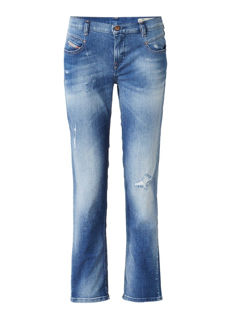 Diesel Bethy-Ankle low rise regular slim-straight fit 7 8 jeans 084GQ