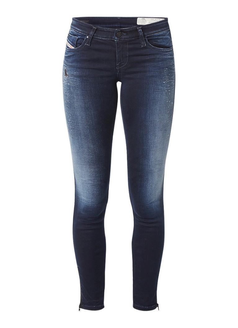 Diesel Skinzee low waist skinny jeans 084HZ