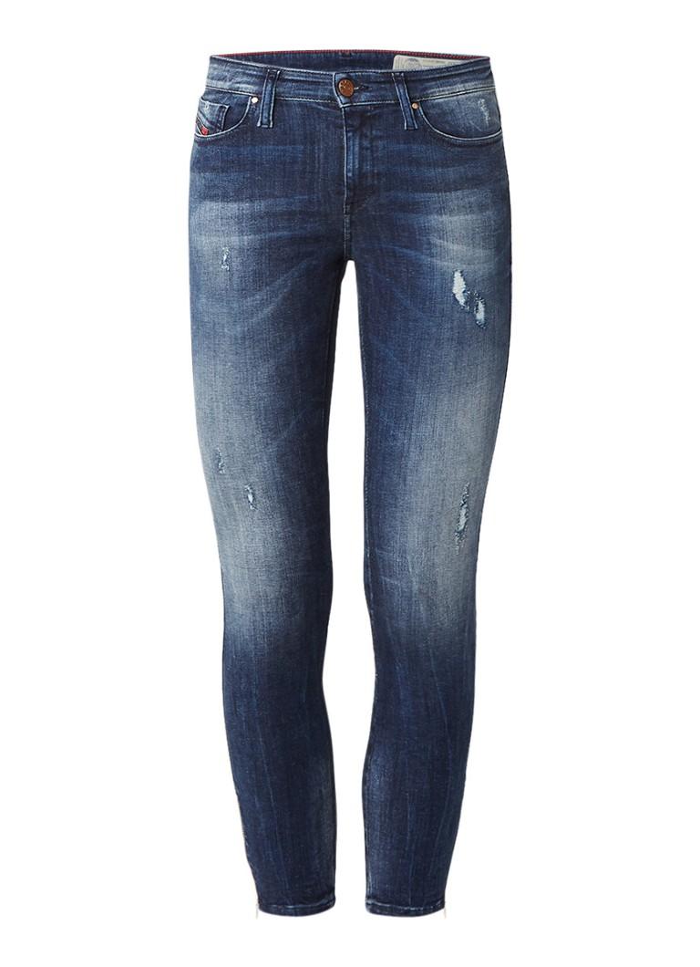Diesel Skinzee-Zip super slim-skinny regular waist 7 8 jeans 0684D L30