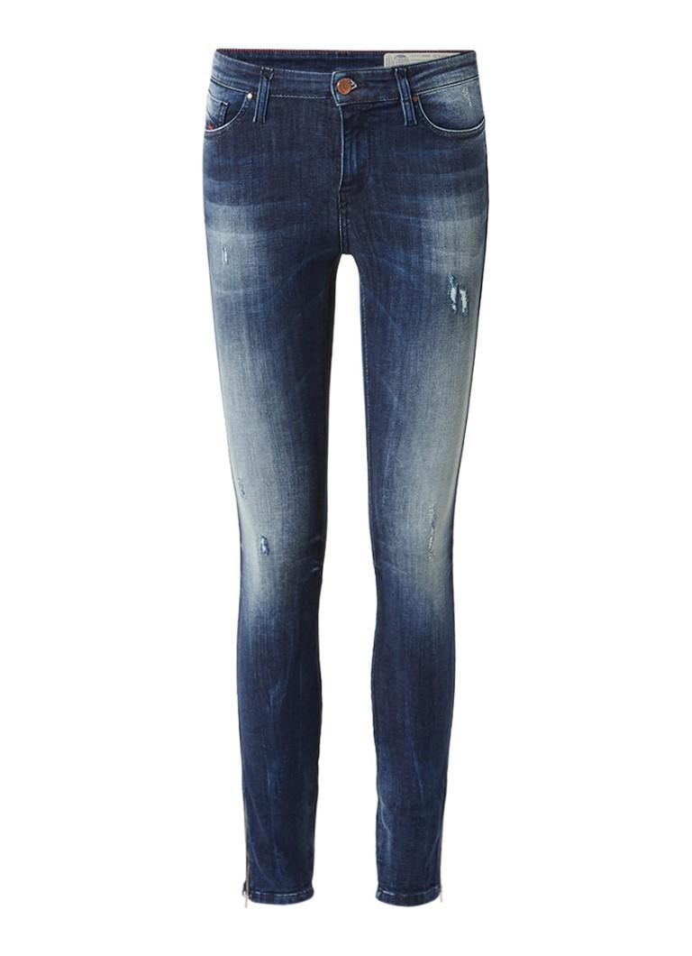 Diesel Skinzee-Zip super slim-skinny regular waist 7 8 jeans 0684D L32