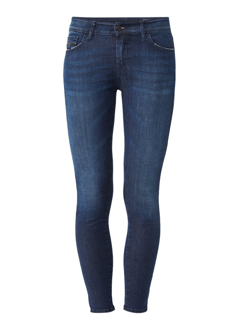 Diesel Slandy mid rise super skinny jeans 0681G L30