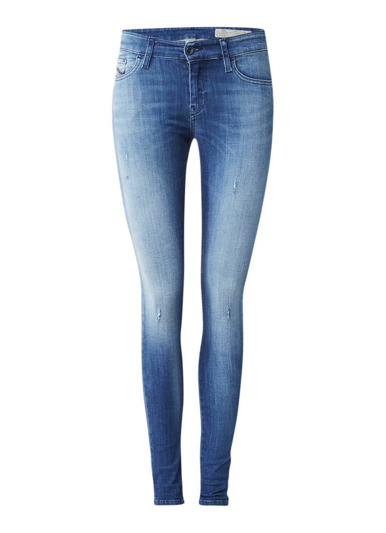 Diesel Slandy regular waist super slim-skinny jeans