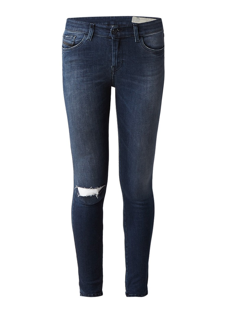Diesel Slandy super slim skinny jeans met faded look 084JP