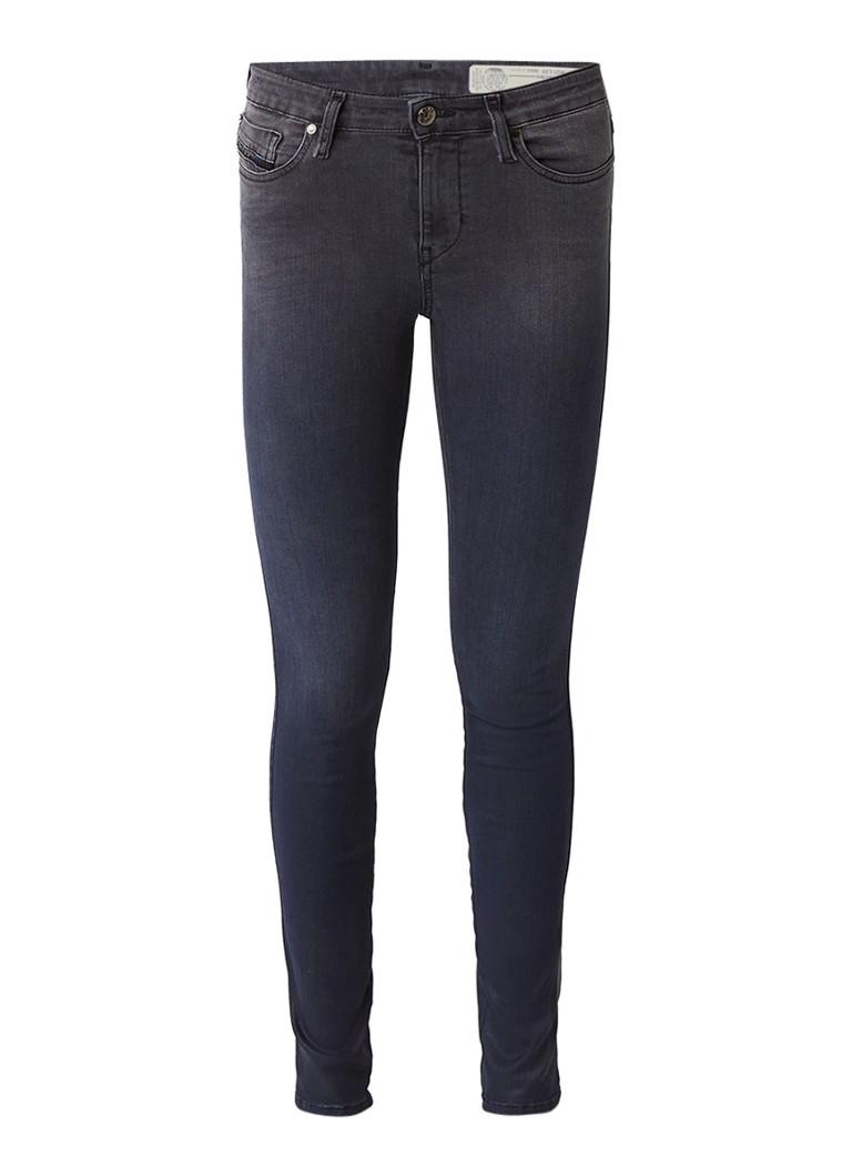 Diesel Skinzee mid rise skinny jeans met faded look 084JI