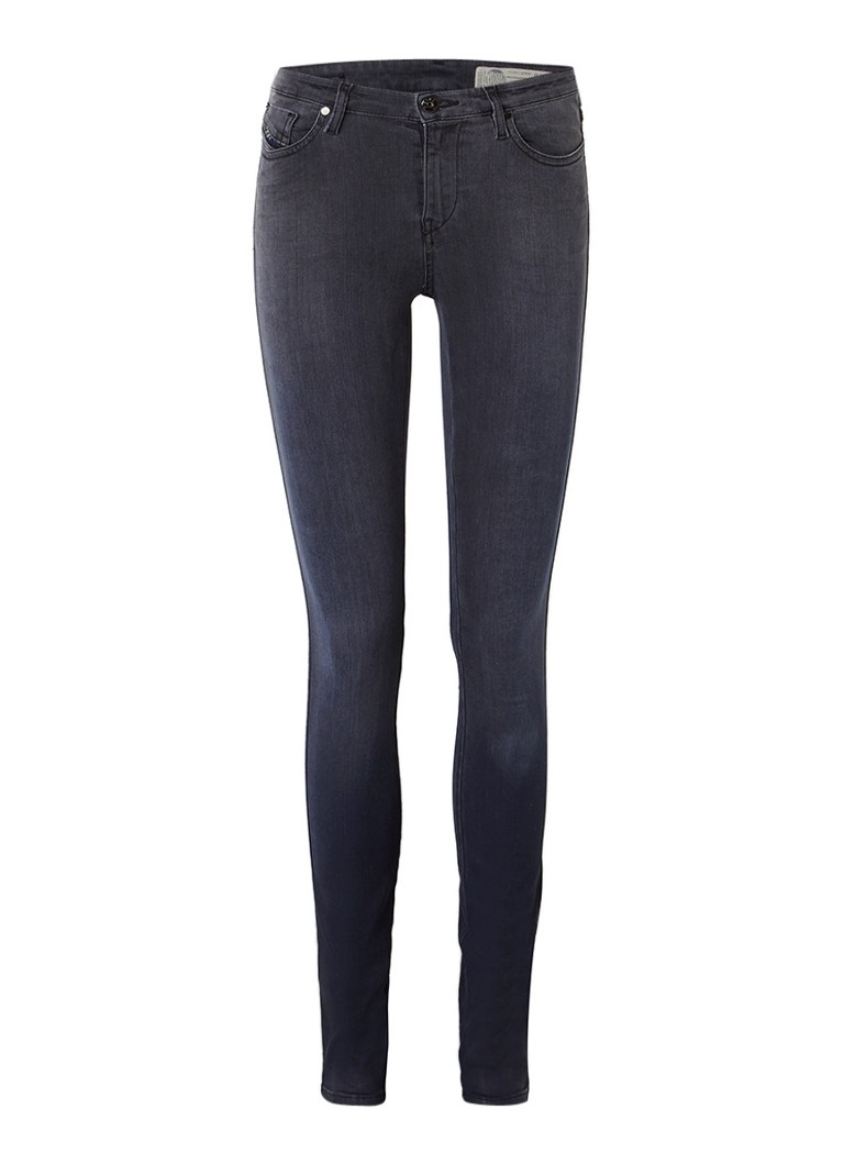 Diesel Skinzee mide rise super slim-skinny jeans 084JI L32