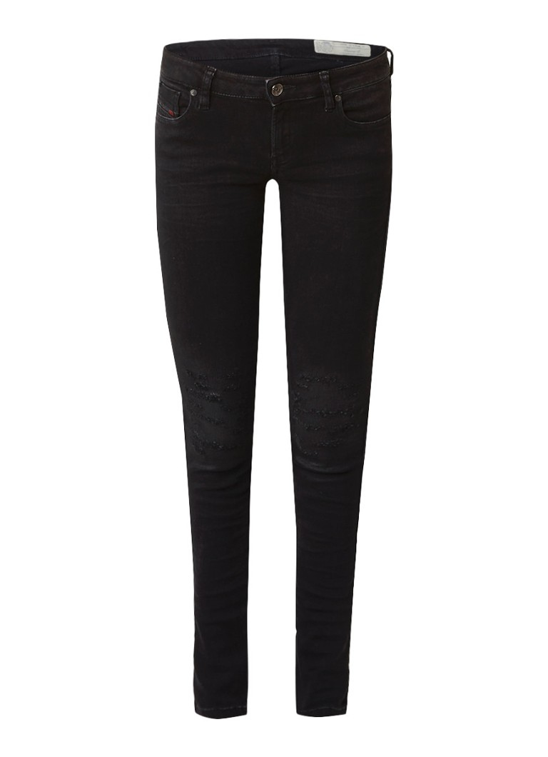 Diesel Gracey-S low waist super slim-skinny jeans 084KG stretch