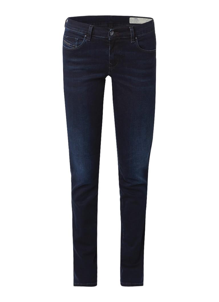 Diesel Sandy regular waist slim-straight jeans 0686B stretch