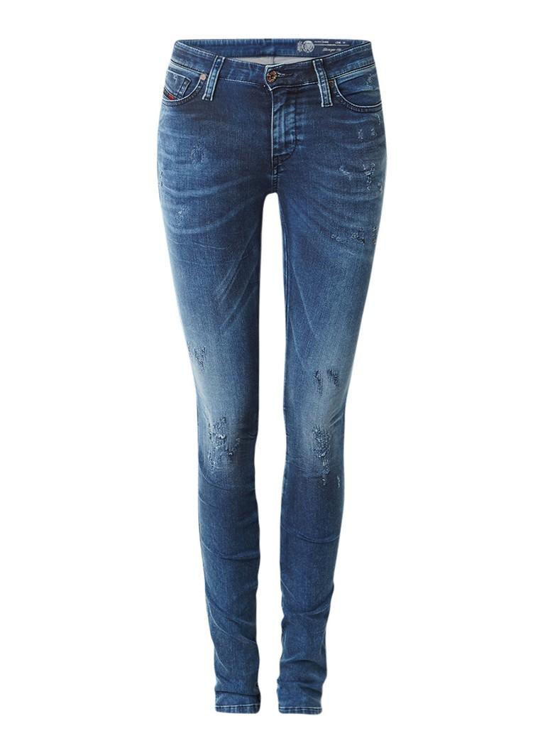 Diesel Skinzee regular waist skinny jeans 0684C