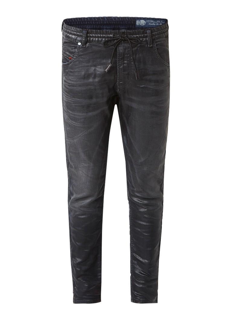 Diesel KRAILEY-NE-SB sweat jeans met coating 0683I