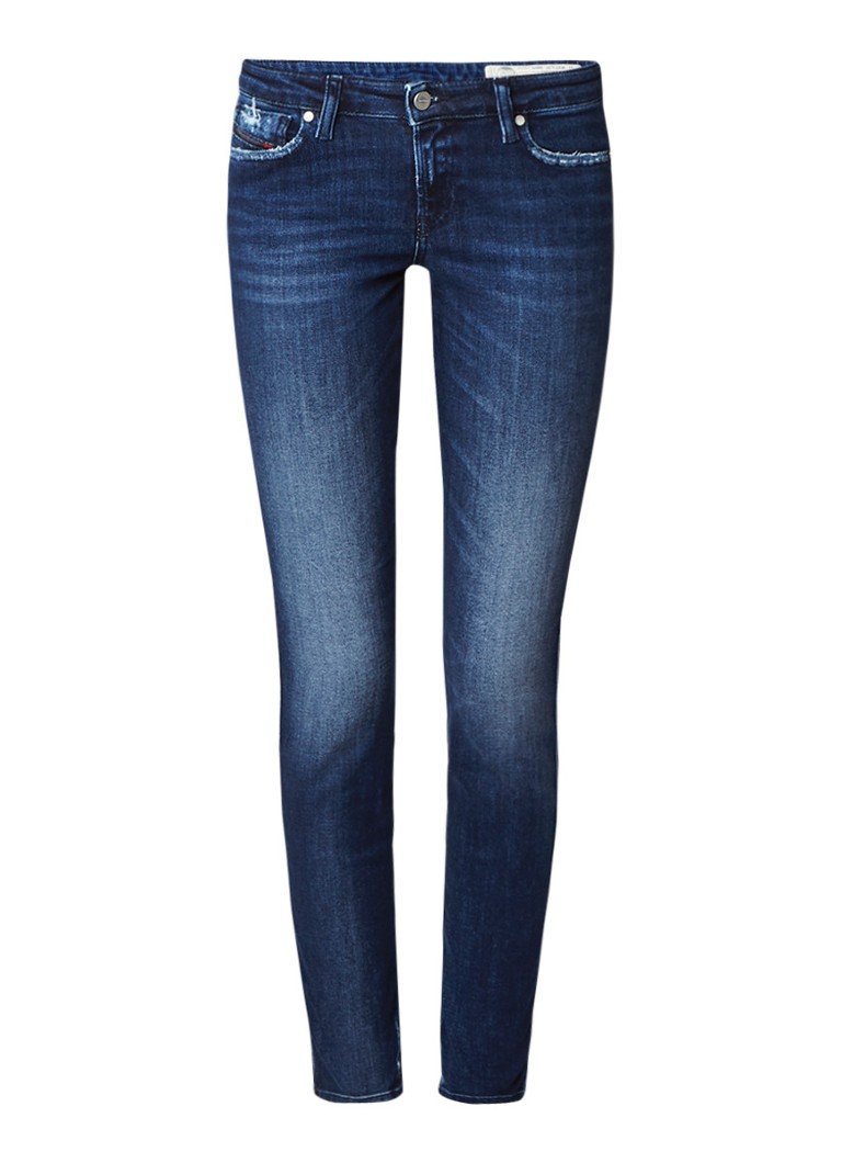 Diesel Gracey super slim-skinny low rise jeans 0687E