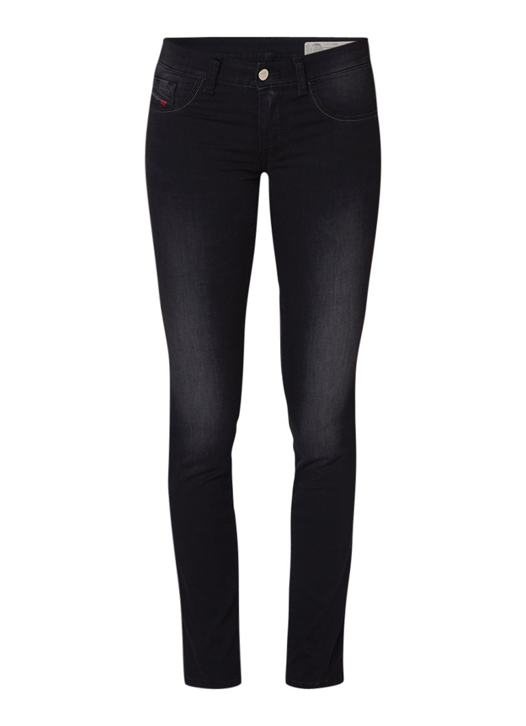Diesel Livier low rise super slim fit jeans met stretch