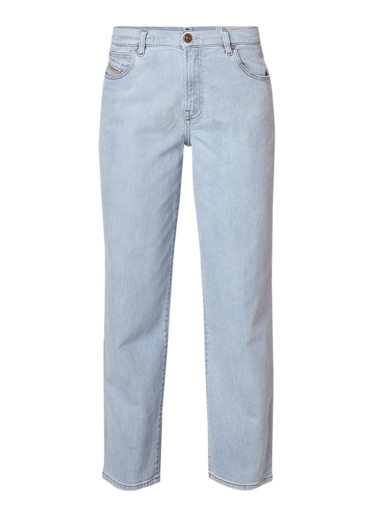 Diesel Niclah high rise regular-straight fit jeans met lichte wassing