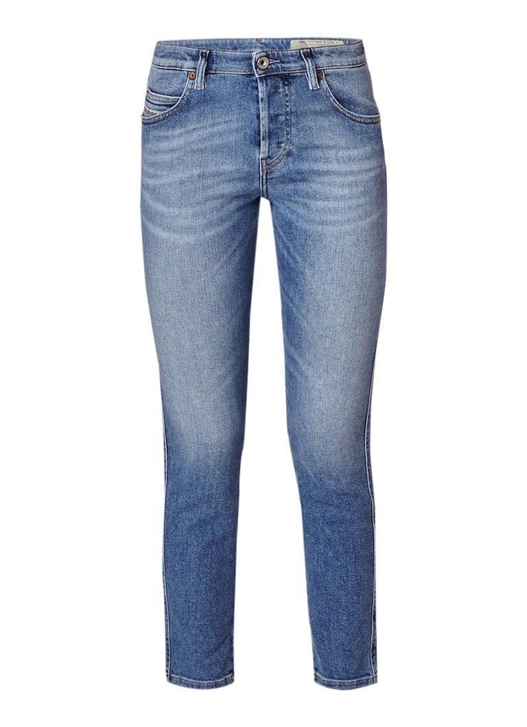 Diesel Babhila mid rise slim-skinny jeans met medium wassing