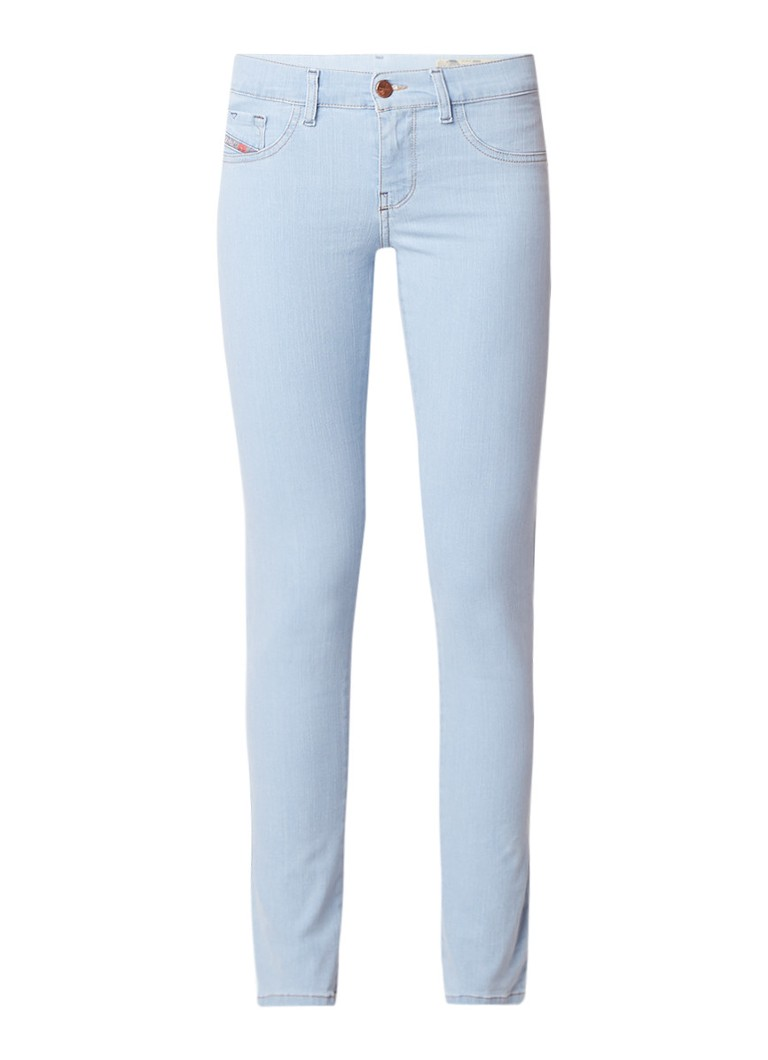 Diesel Livier low waist super slim jeans