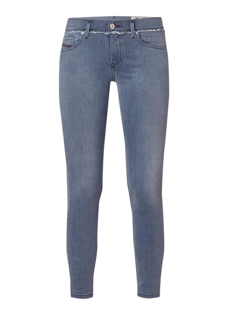 Diesel Slandy-Ankle mid rise super slim-skinny jeans