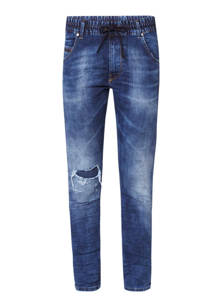 Diesel Krailey R-Ne jogg jeans met destroyed look