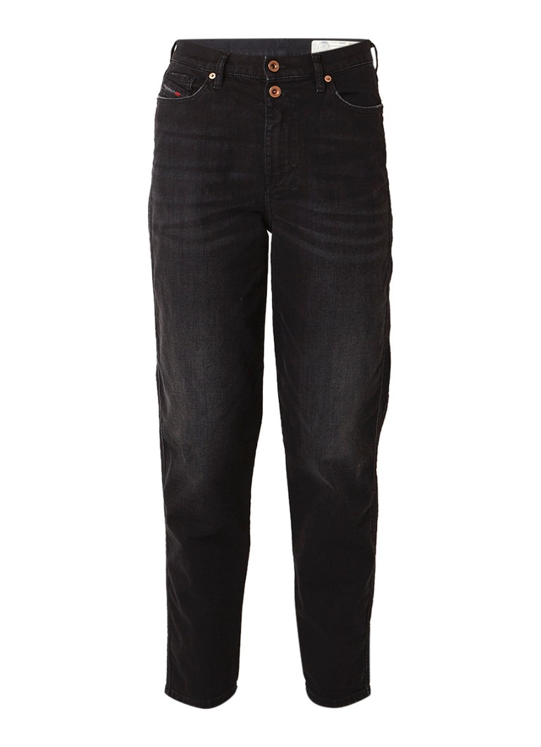 Diesel Alys high rise straight fit jeans met stretch