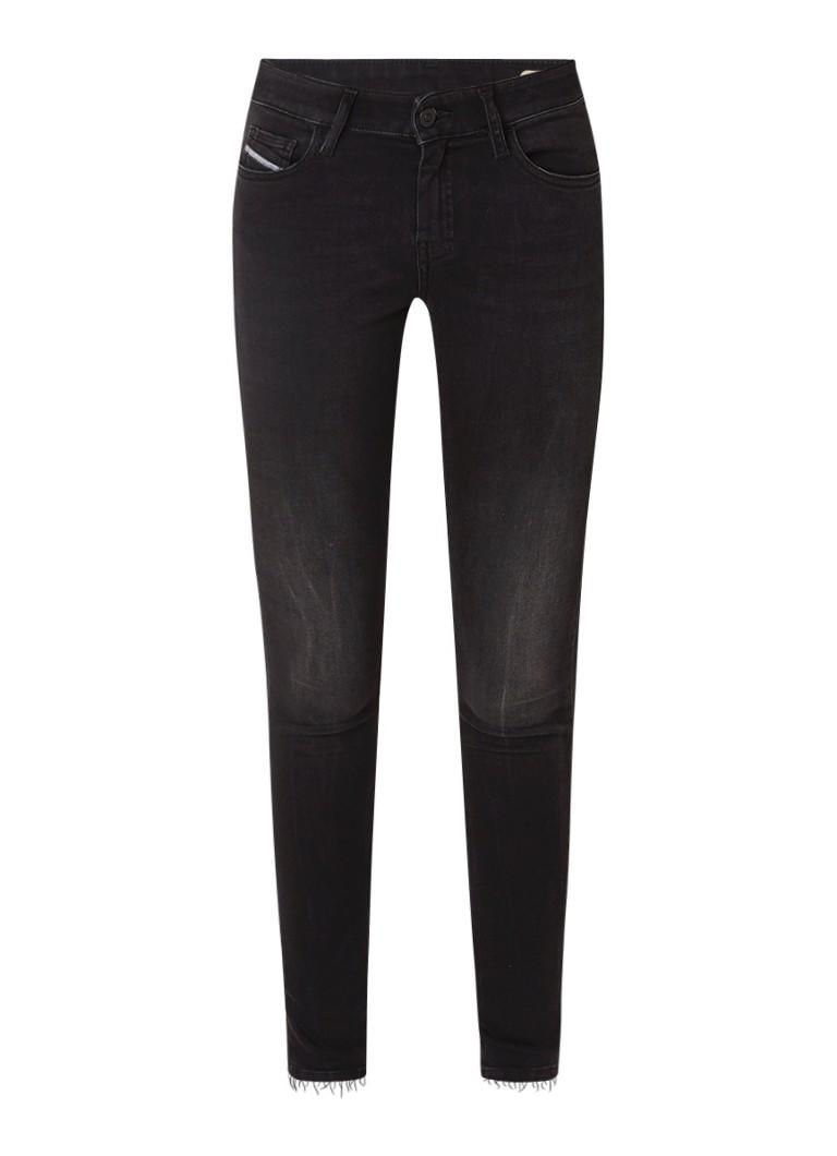 Diesel Slandly low rise skinny fit jeans met stretch