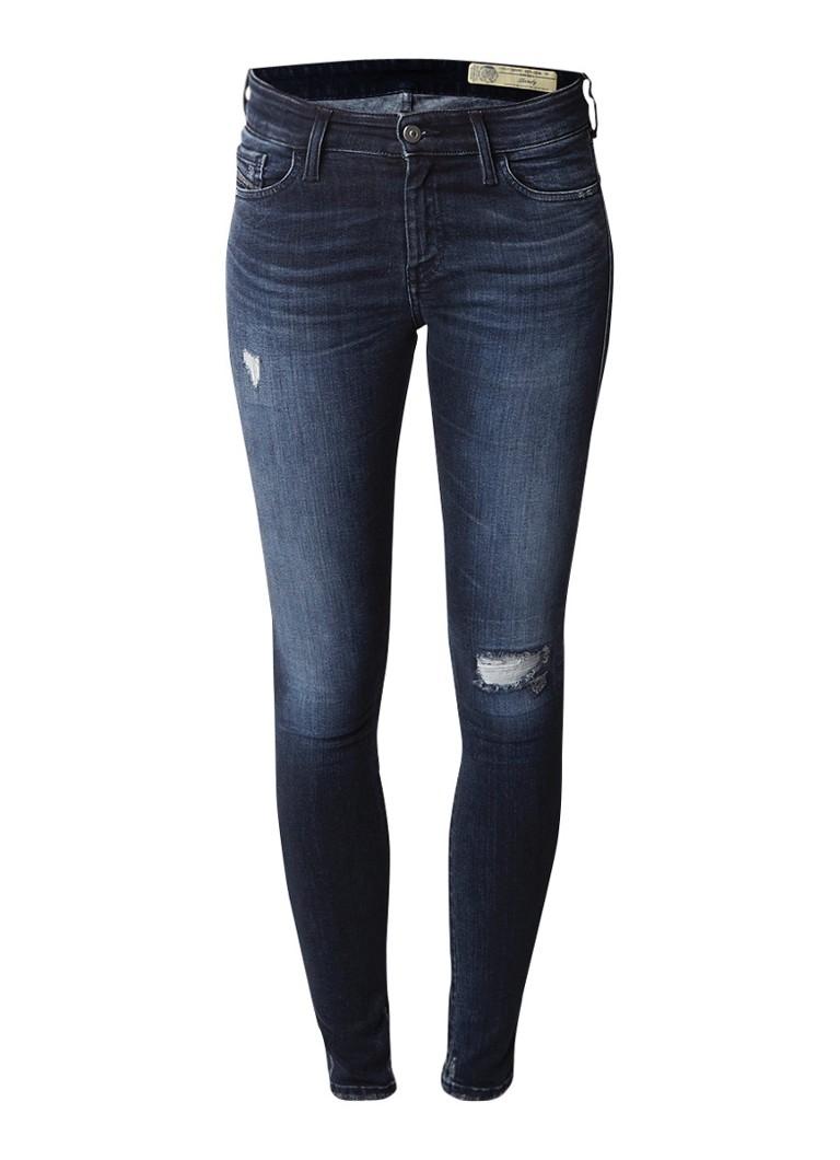 Diesel Slandy super slim-skinny jeans met destroyed afwerking 084ZD