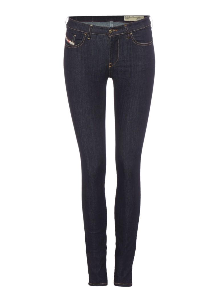 Diesel Skinzee mid rise super slim skinny jeans 0813C