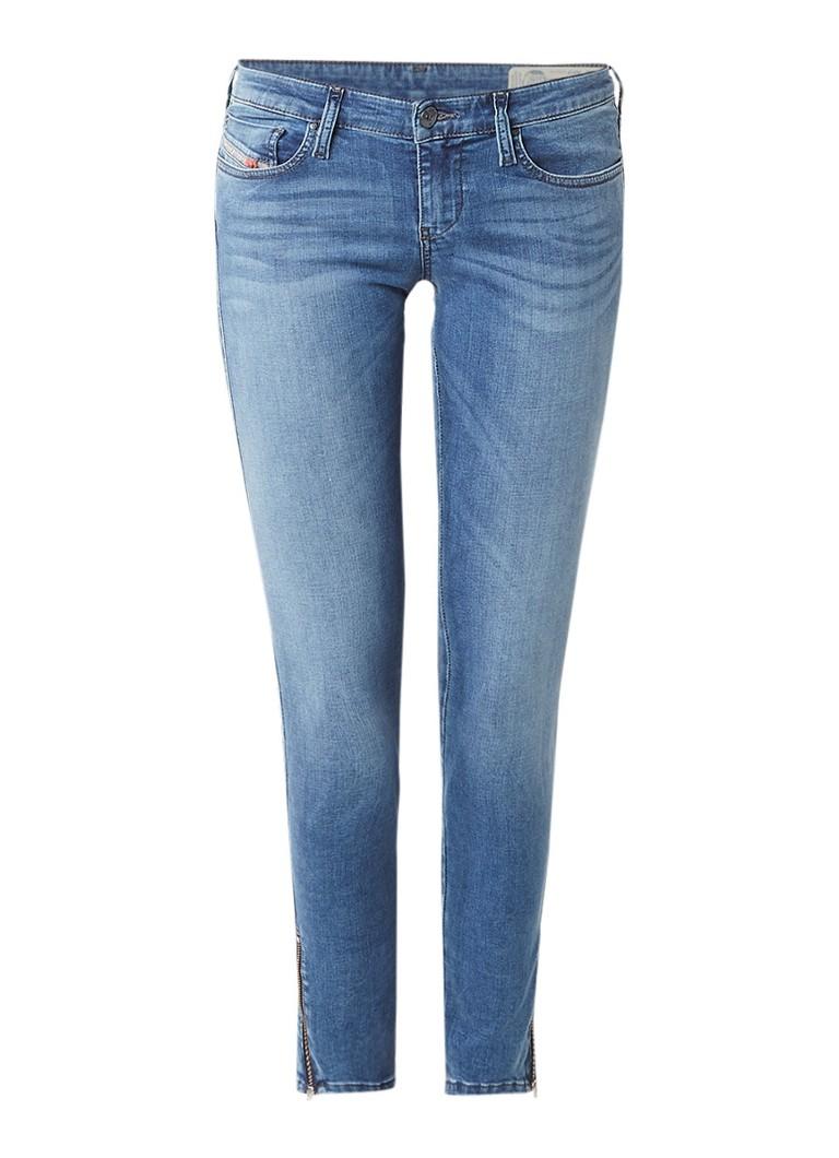 Diesel Skinzee low rise skinny jeans 0681P