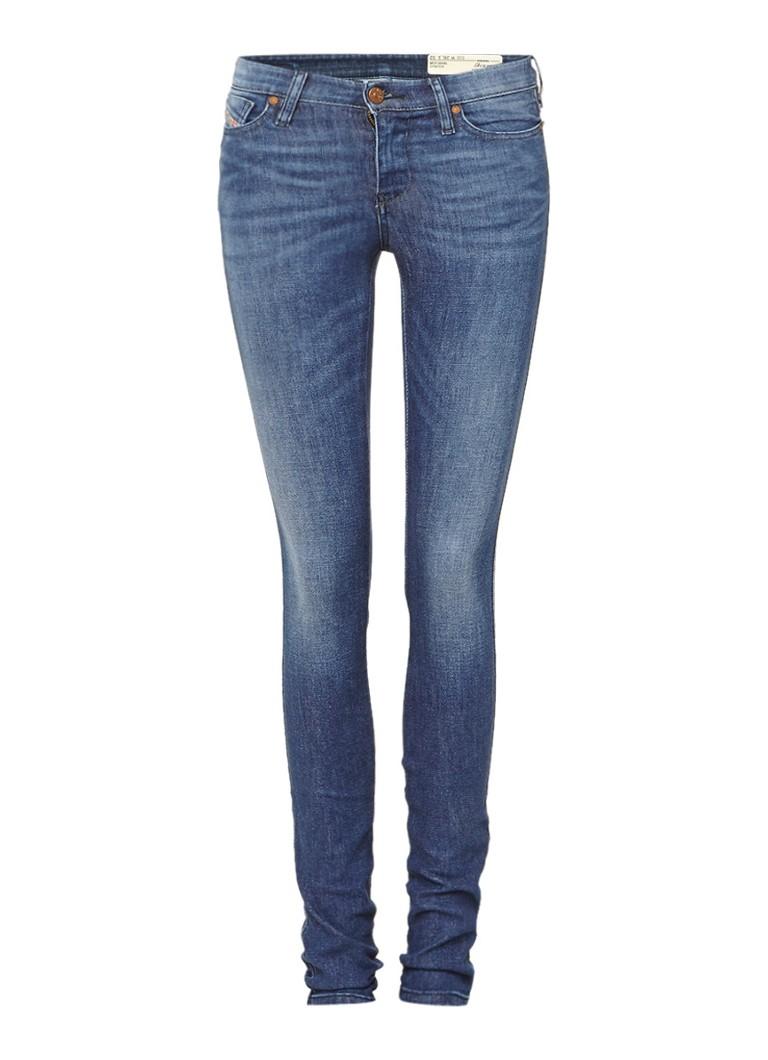 Diesel Skinzee Super Slim-Skinny jeans Regular Waist 0848L