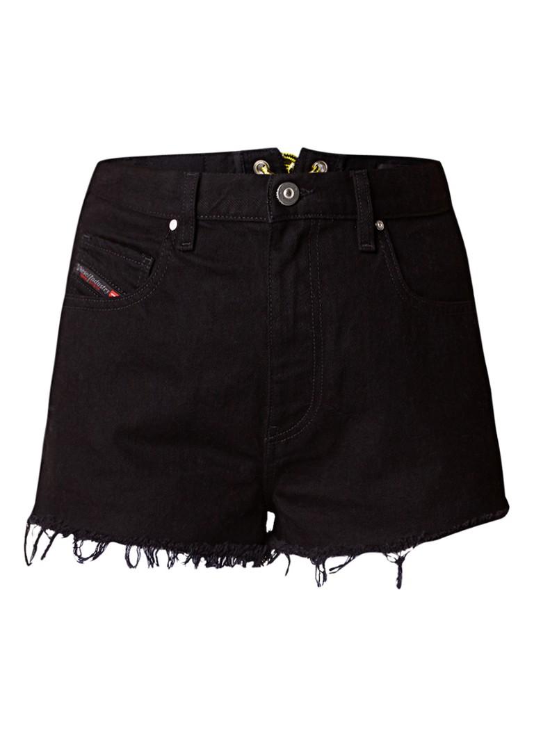 Diesel De-Liber-L denim shorts met rijgdetail