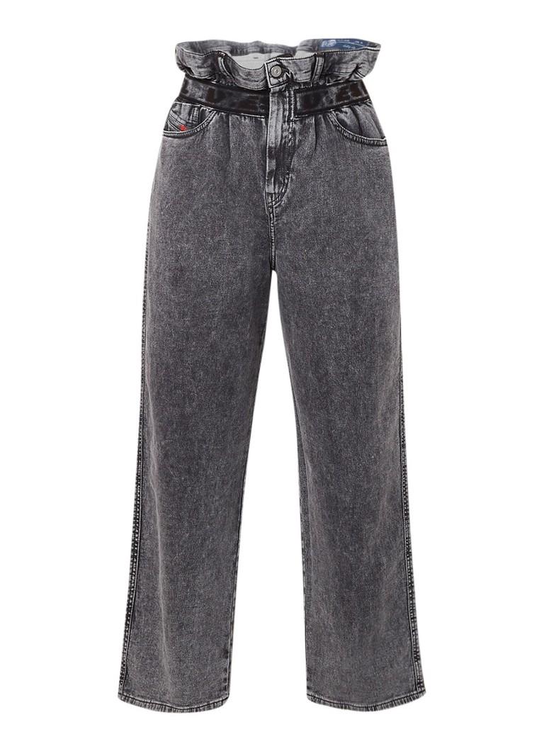 Diesel Kalley-Ne high waist jogg jeans met vintage look 069AU