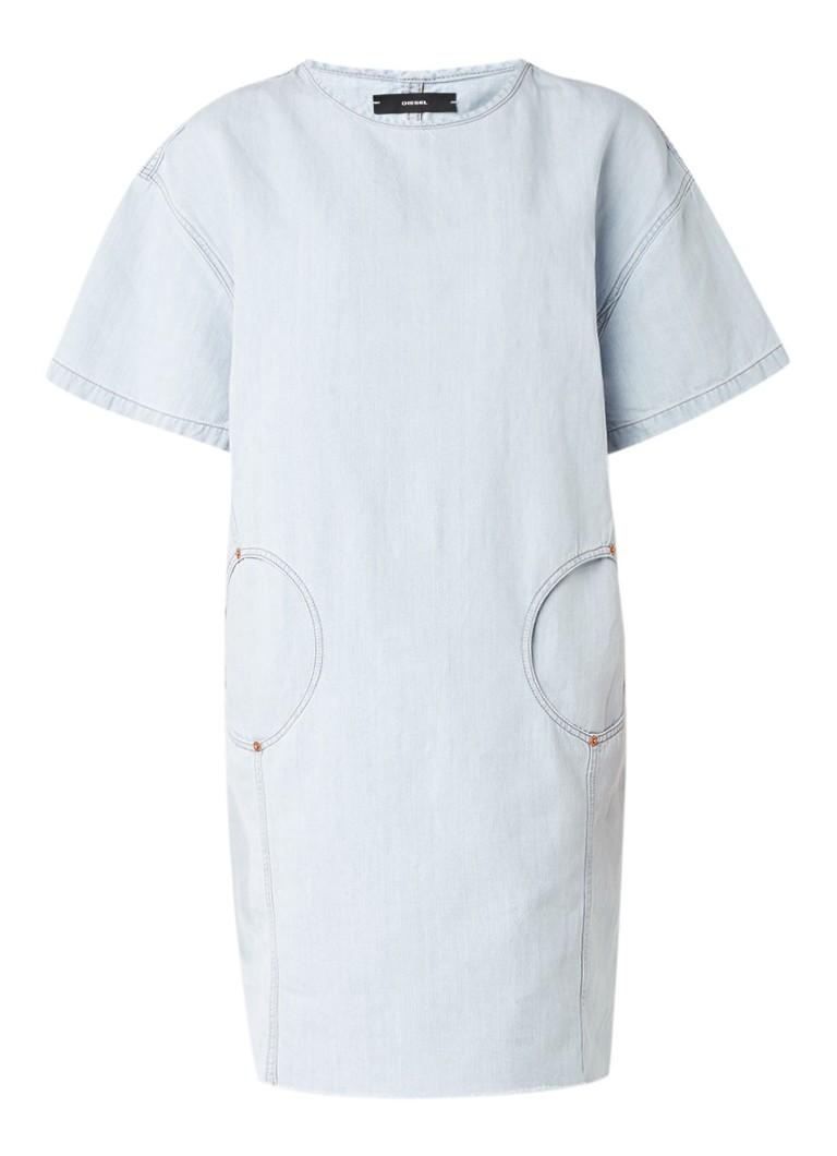 Diesel De-Candy oversized denim jurk met steekzakken