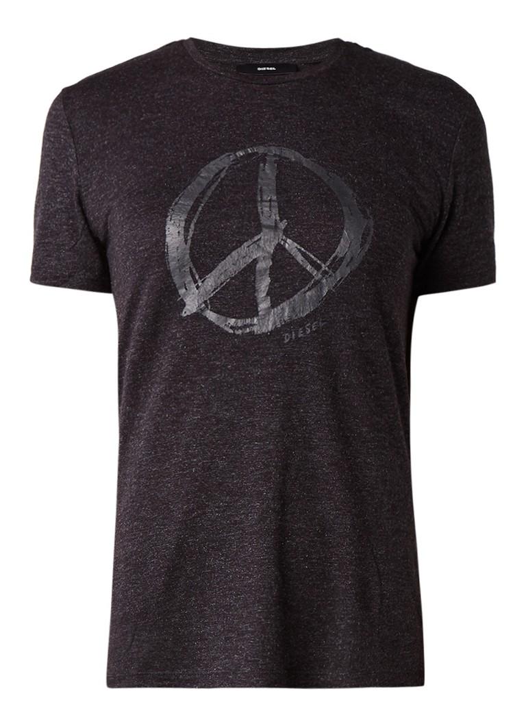 Diesel T-Sily T-shirt met frontprint
