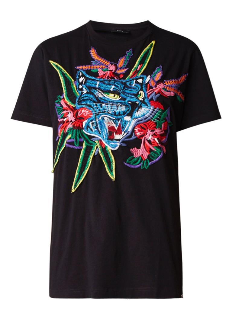 Diesel T-Diego T-shirt met borduring