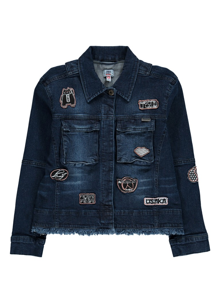 Tumble 'n Dry Ava denim jack met patches