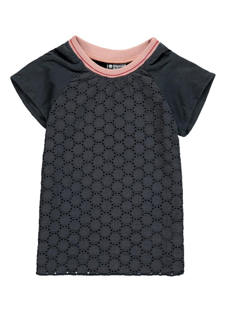 Tumble 'n Dry Dannett T-shirt met opengewerkte details