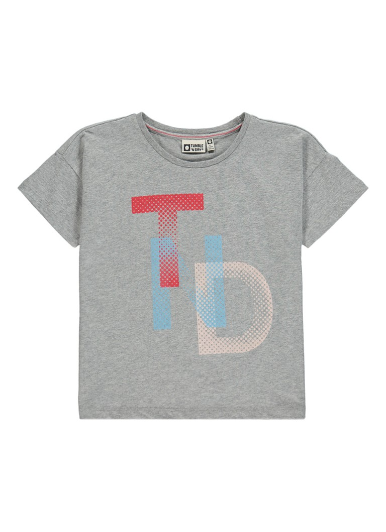 Tumble 'n Dry Alima T-shirt met tekstopdruk