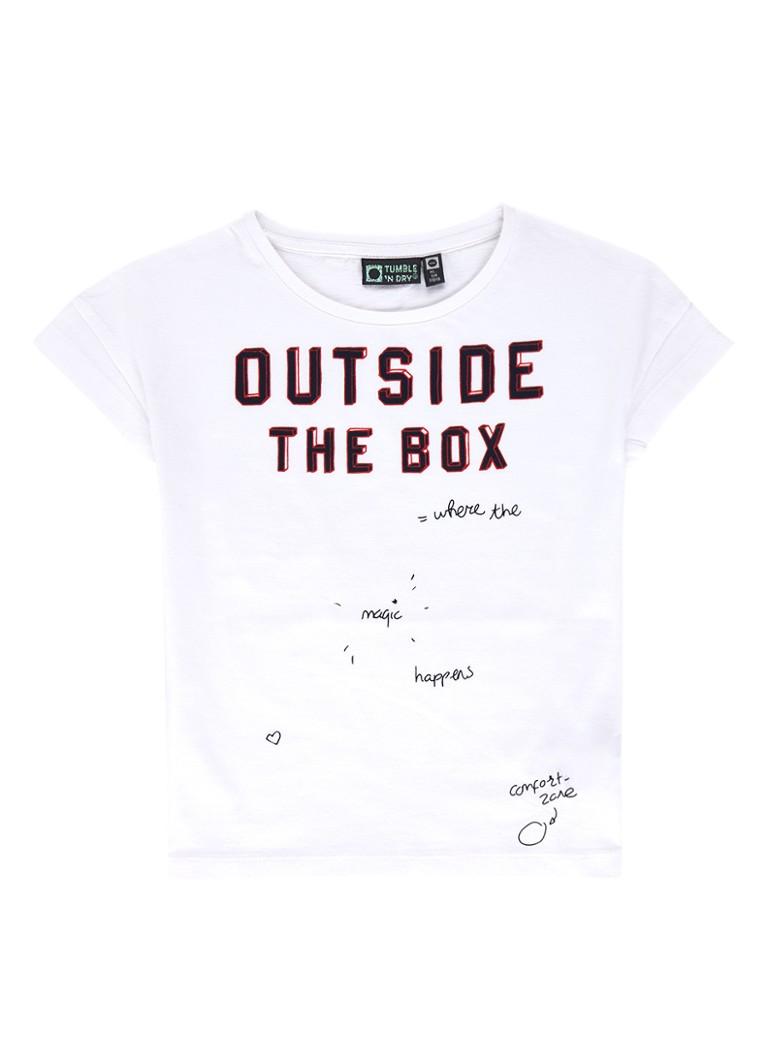 Tumble 'n Dry Andra T-shirt met tekstopdruk