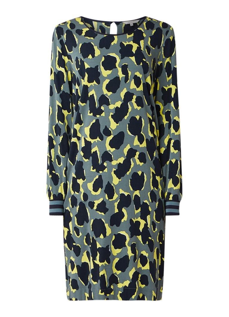 Sandwich Loose fit jurk van jersey met dessin multicolor