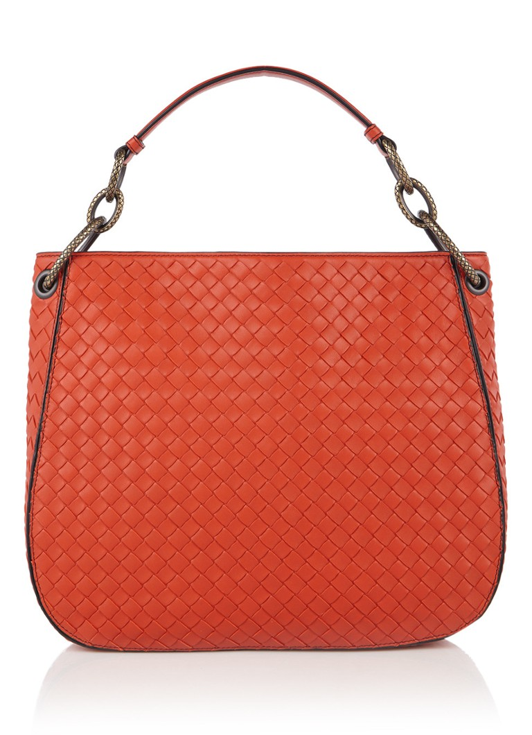 Bottega Veneta Small Loop Hobo schoudertas van kalfsleer