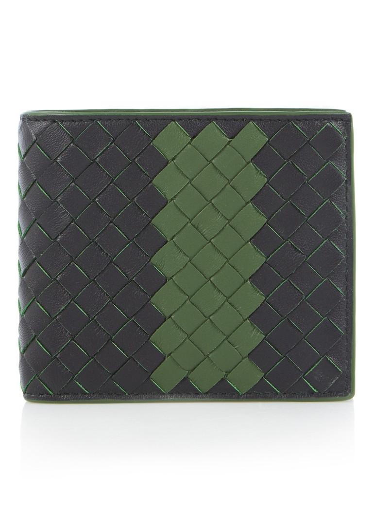 Bottega Veneta Intrecciato portemonnee van lamsleer