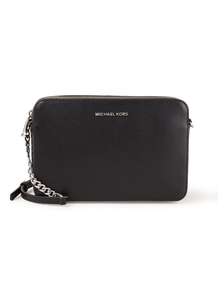Michael Kors Jet Set crossbodytas zwart