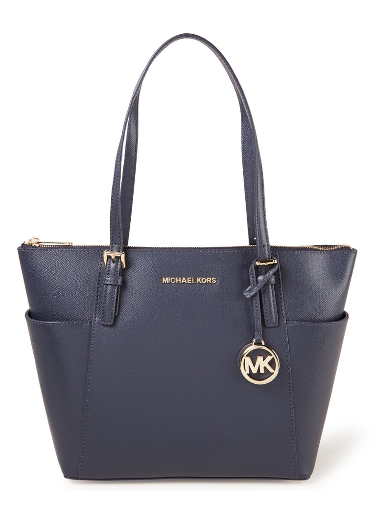 Michael Kors Jet Set shopper blauw