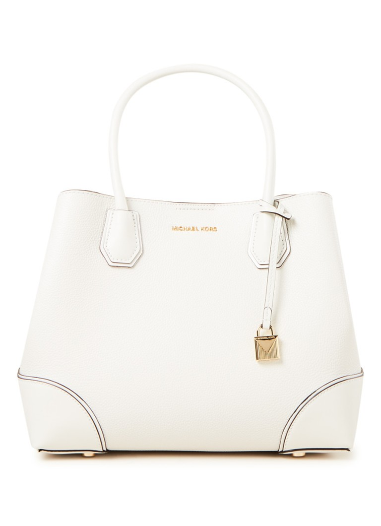 Michael Kors Mercer Gallery Medium handtas van leer