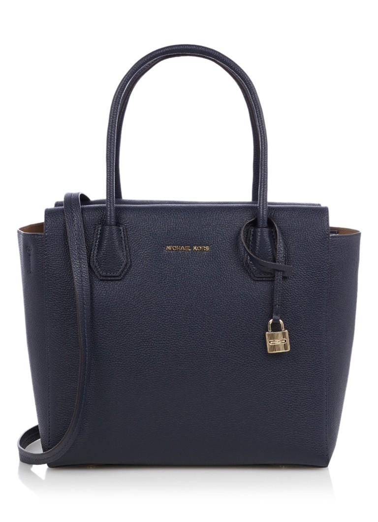 Michael Kors Mercer shopper van leer