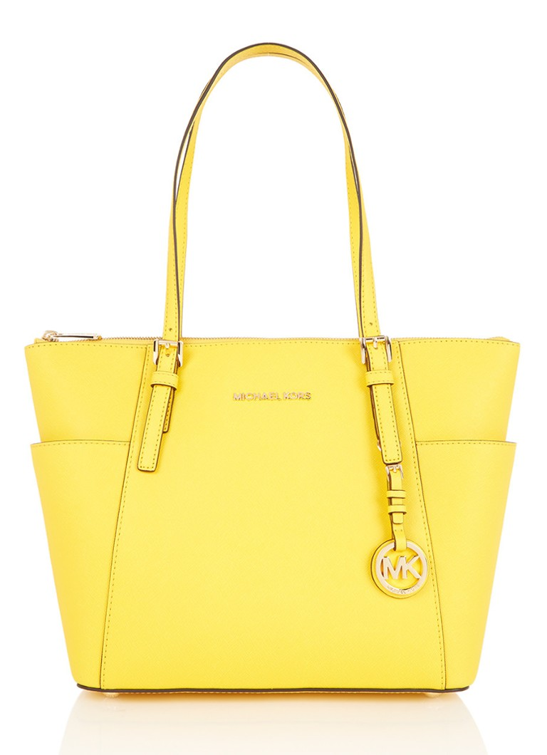 Michael Kors Jet Set Item shopper van saffianoleer