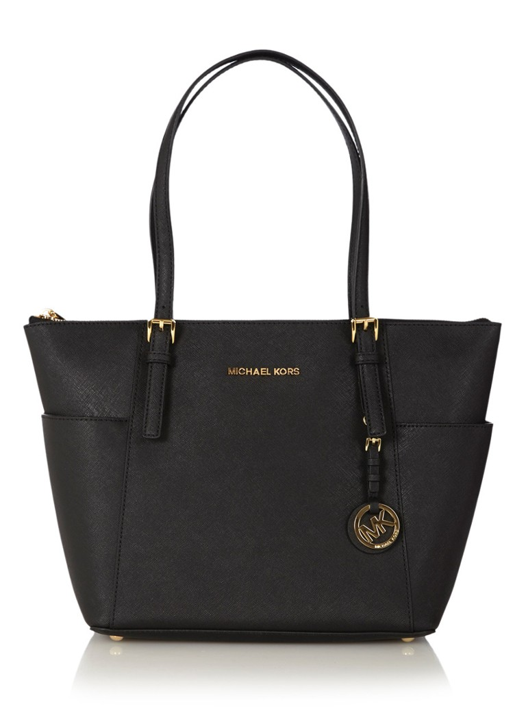 Michael Kors Jet Set shopper zwart