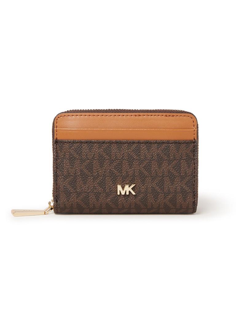 Image of Michael Kors Money Pieces portemonnee met logodessin