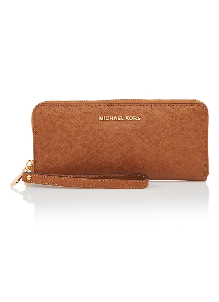 Michael Kors Jet Set Travel portemonnee van leer