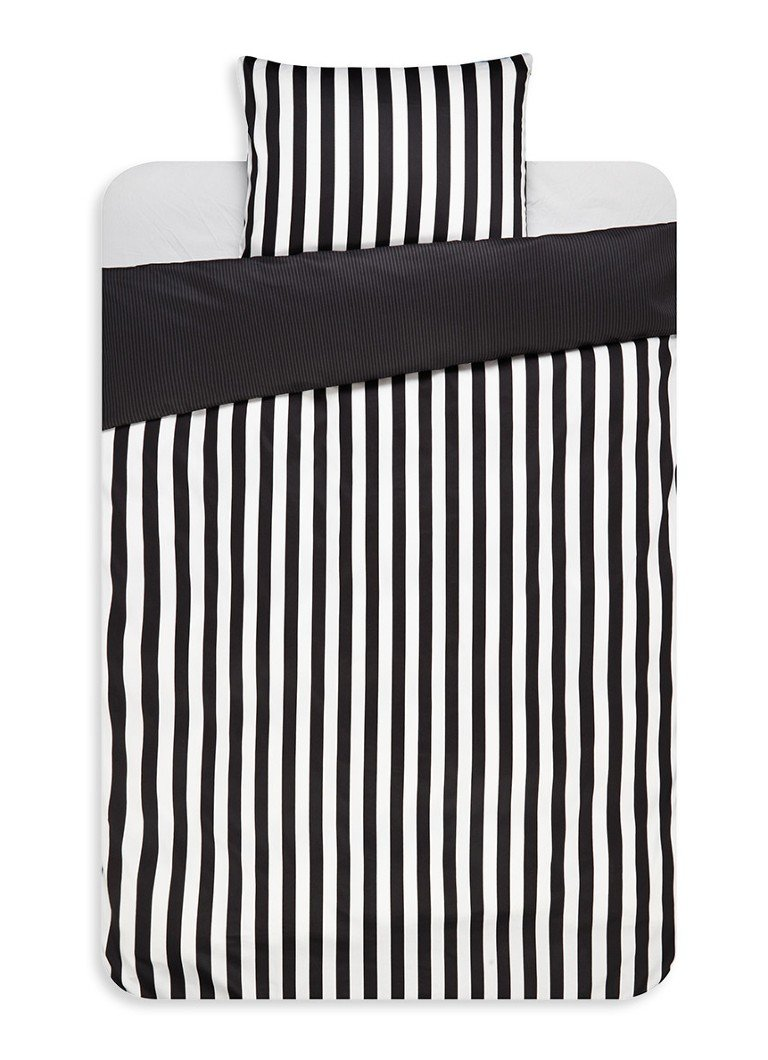 Marc O'Polo Classic Stripe dekbedovertrekset van katoensatijn 220TC