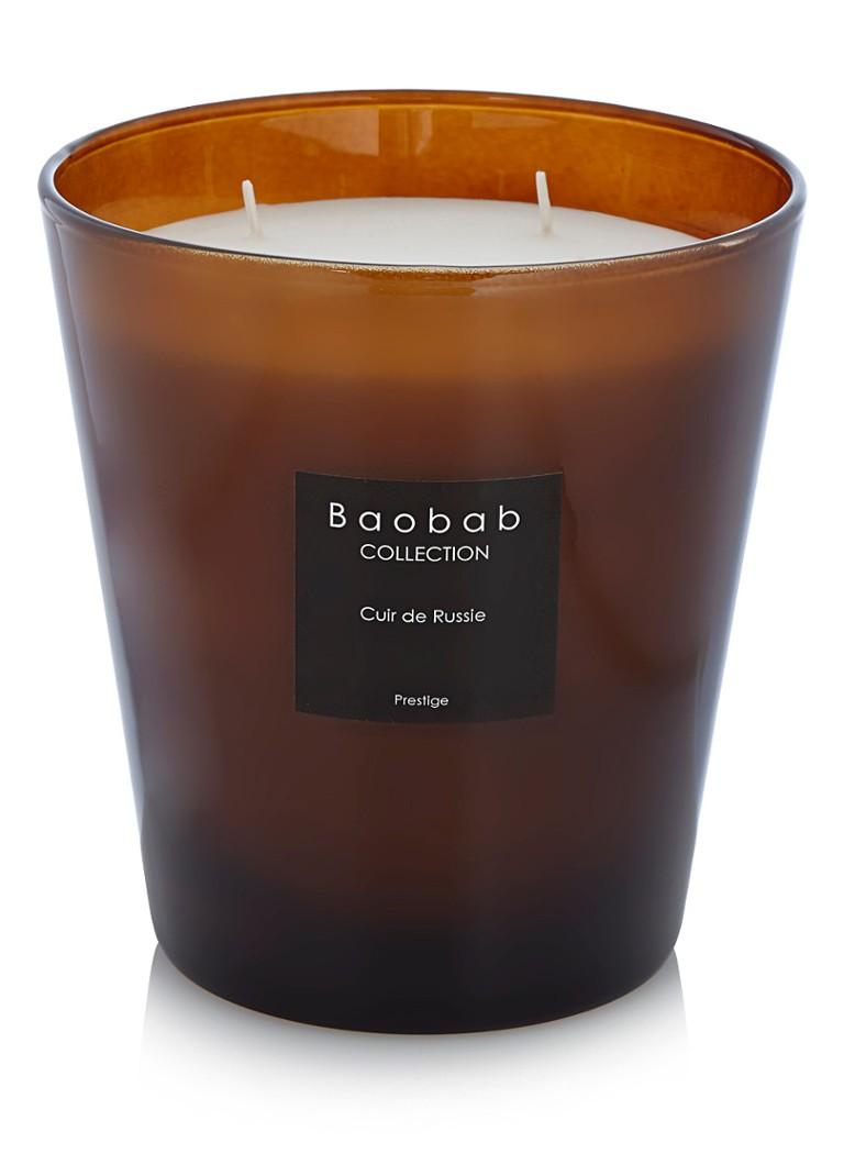 Baobab Collection Cuir de Russie geurkaars