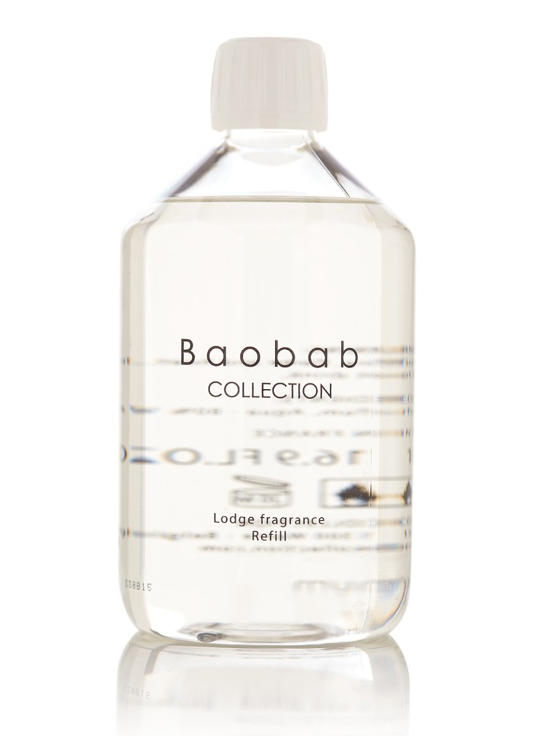 Baobab Collection Platinum diffuser navulling 500 ml